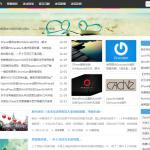 沫沫坑-小幻Ckoo修改版三栏小清新WordPress主题